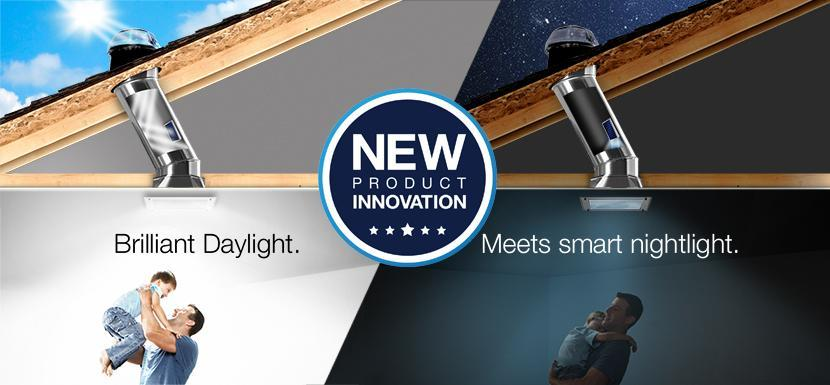 Daylighting and Nightlighting. Now all in one system.